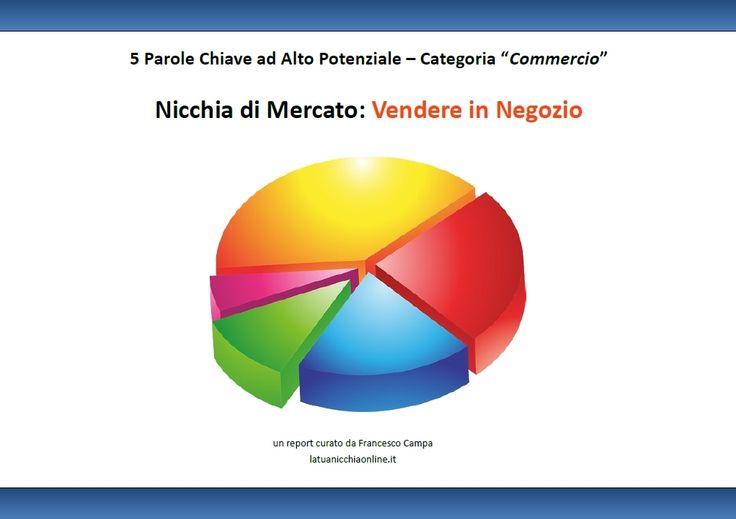 """Analisi Nicchia di Mercato """"Vendere in Negozio"""" nel Settore Commercio"""