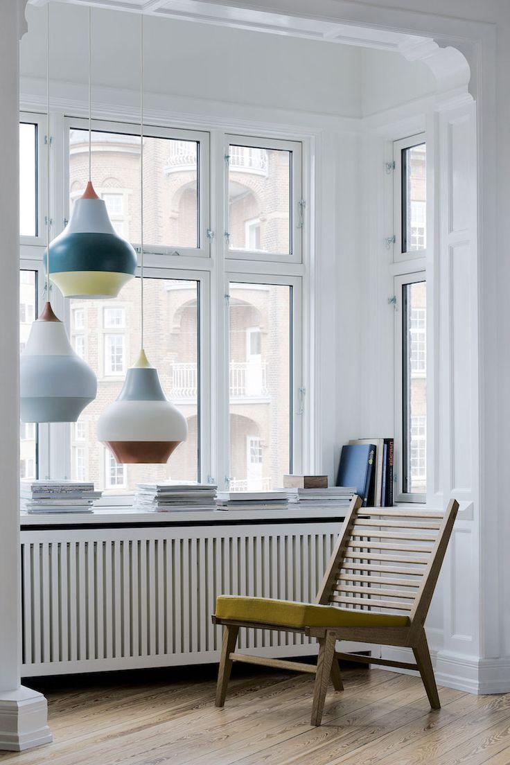 A Trio Cirque Pendant Lamps By Louis Poulsen