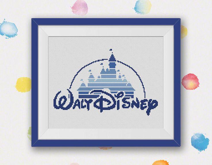 BOGO FREI Disney-Schloss Cross Stitch Pattern von StitchLine