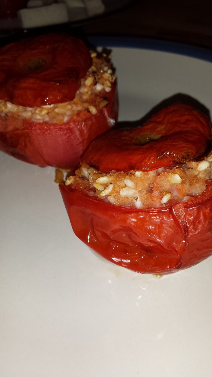 pomodori ripieni di riso  tomatoes stuffed with rice