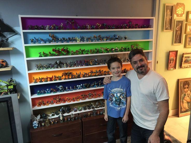 Wizards Never Wear Armor: Homemade Skylanders Shelf