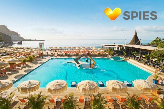 SUPERBILLIG REJSE: Så er der billige rejser. Spar 1.850 kroner per person og bo på skønne hotel Riviera Beach, Playa del Cura, kat. 4, i egen juniorsuite med balkon og den dejligste havudsigt! Der er tale om et helt unikt tilbud, så det gælder om at gribe chancen. God rejse! #ferie #rejser #charterferie #charterrejser