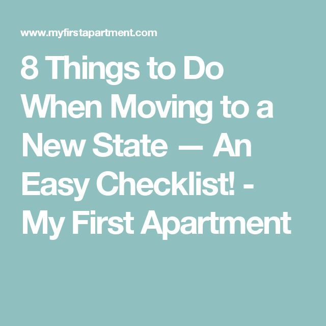 Best Apartment Moving Checklist Ideas Only On Pinterest