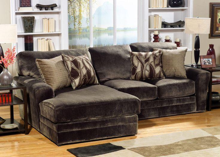 Rainier 2 Piece Modular Sectional (HOM Furniture)--Love the distressed look : hom furniture sectionals - Sectionals, Sofas & Couches