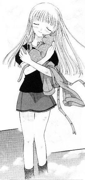 <3<3<3 Tohru x Kyo <3<3<3  (One of my FAVORITE moments -- in the manga and the anime! <3)