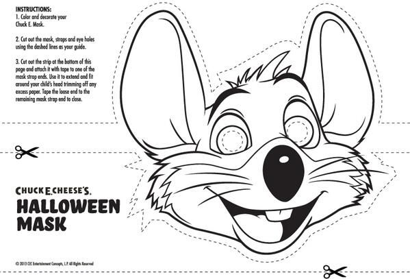 Chuck E Cheese Colouring Pages Coloring Page