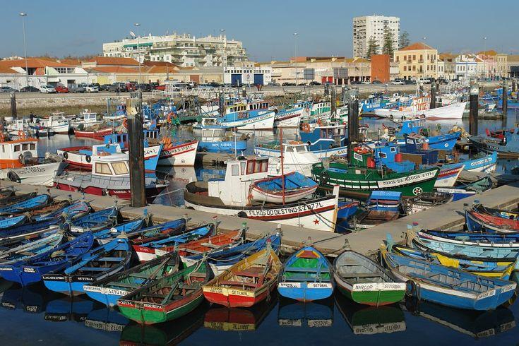 Harbour of Setúbal, Portugal