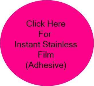 Stainless Steel Appliance Film for Dishwasher and Refrigerator Covers