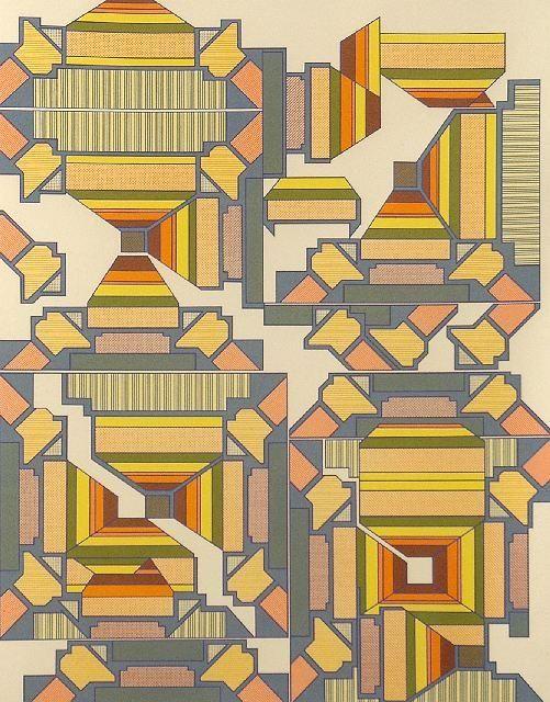 gilliflower: screenprint by eduardo paolozzi (found here)