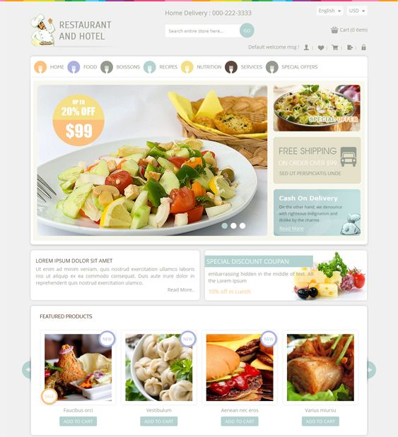 13 Best Images About 13 Of The Best Magento Themes For