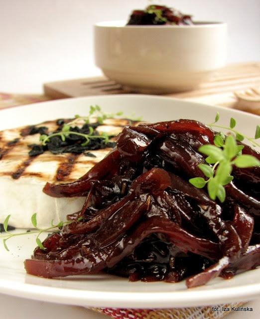 Smaczna Pyza: Konfitura z czerwonej cebuli…