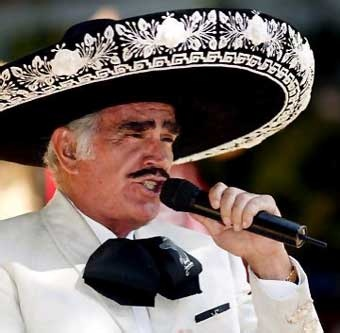 vicente fernandez. The Great Classic in Mexican folk songs. Really beautiful voice