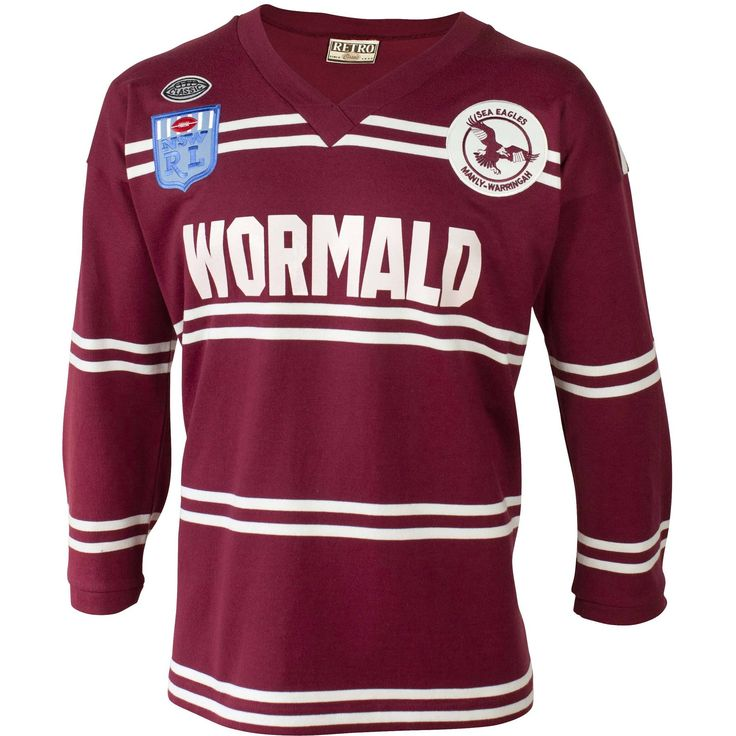 Manly Warringah Sea Eagles 1987 Retro Jersey - NRL Megastore