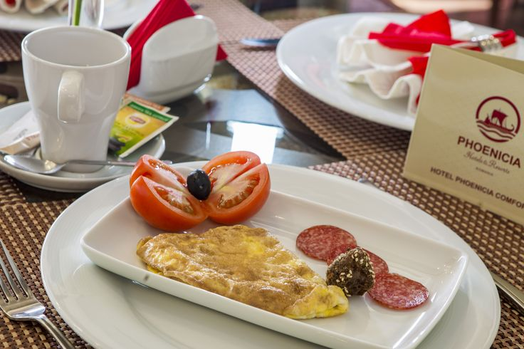 Delicious omlette in the morning at Phoenicia Comfort 4* Bucharest