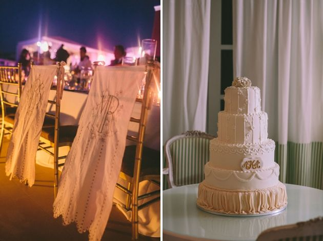 Mr & Mrs Wedding Chair Covers by Stella And Moscha