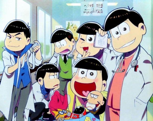 TVアニメおそ松さんキャラクターズブック 1 おそ松 [ピンナップ・医者松さん]