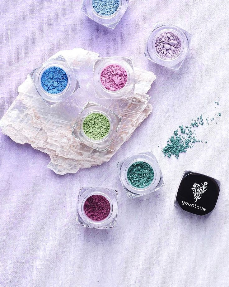 HURRY! There are only 20 Moodstruck Minerals Pigment Powder colors left to choose from! Grab your favorite six and get a free liner/shader brush in the July Customer Kudos (link in bio). What colors are you going to snag?     #Blending #SmokyEye #PinkEyeshadow #BlueEyeshadow #PurpleEyeshadow #Crystals #Geode #Pigment #SmokeyEyes