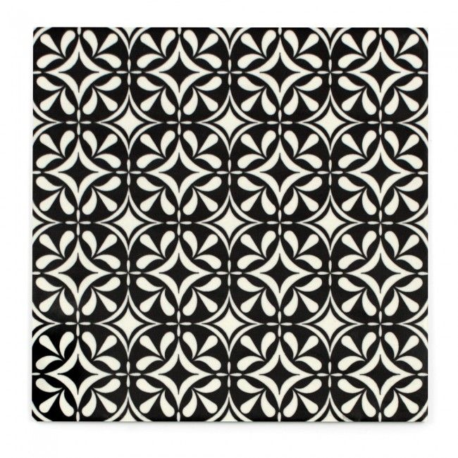 Modena Fiore Black & White - National Tiles