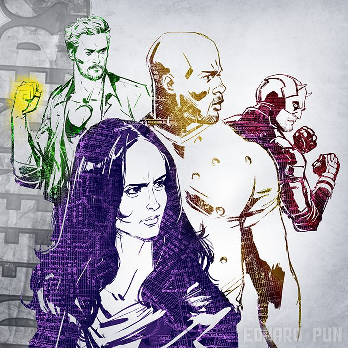 The Defenders by Edward Pun