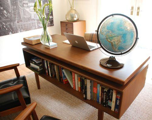 retro home office. retro home office design idea