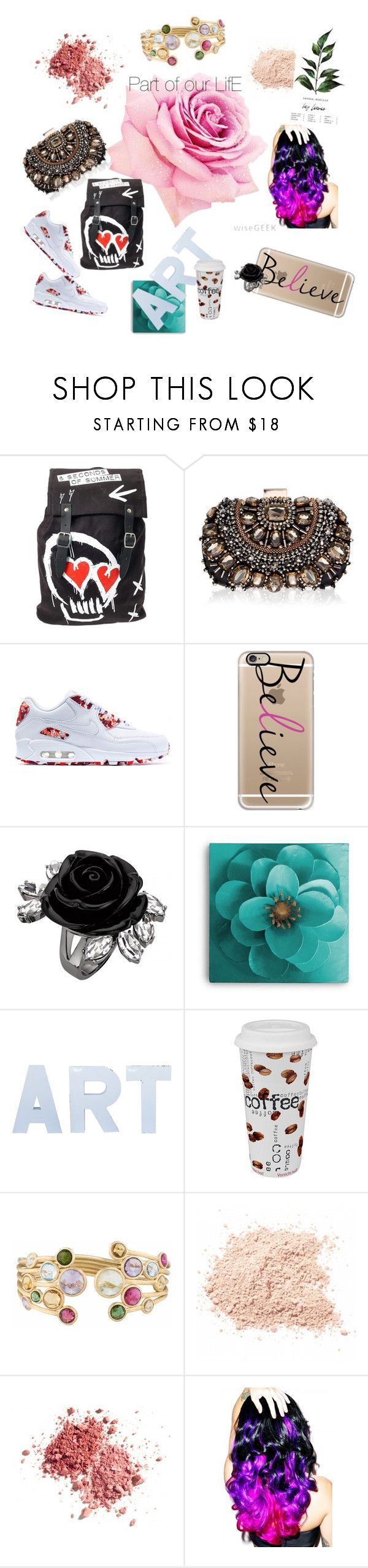 """☆Part° of °Our`- lifE♡"" by takinagaaoi ❤ liked on Polyvore featuring beauty, Lipsy, NIKE, Casetify, Stray Dog Designs, Könitz, Marco Bicego and Leg Avenue"