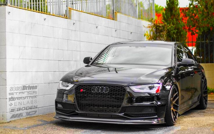 New Look For The Audi S4 Vader, Savage !