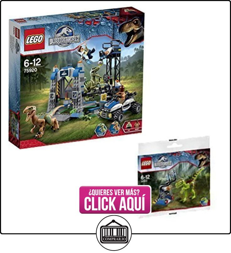 Lego Jurassic World Raptor Escape 75920 and Gallimimus Trap 30320 Bundle by LEGO  ✿ Lego - el surtido más amplio ✿ ▬► Ver oferta: https://comprar.io/goto/B010KOTX9Y