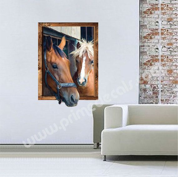 Horse Murals Decals Horse Portraits Horse Picuture by PrimeDecal. Best 25  Horse mural ideas on Pinterest   Western kids rooms