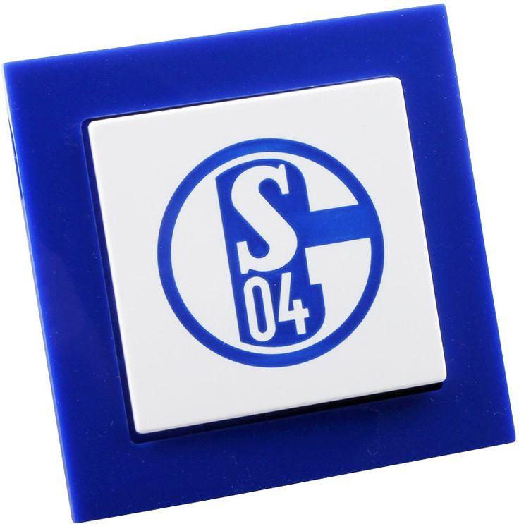 Der Lichtblick für deinen Verein: FC #SCHALKE 04 Fan-#Lichtschalter