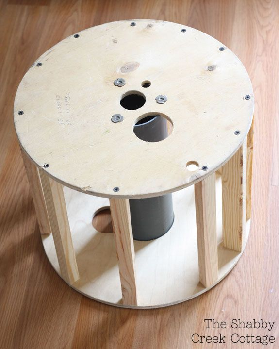 images about Spool makeovers Cable spools