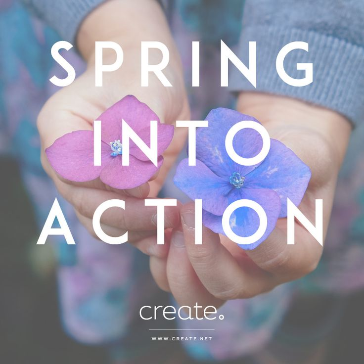 #Spring has officially sprung! What are your #goals for the new season? Why not build your business a new website with Create! Start a free trial TODAY! #MotivationalMonday #MondayMotivation #happy #inspiring