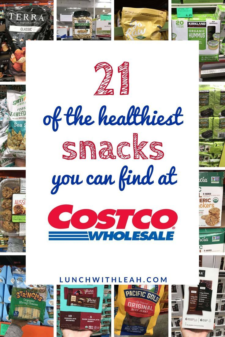 21 Of The Healthiest Snacks You Can Buy At Costco Nutritious