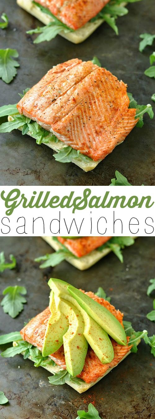 Perfect Grilled Salmon recipe. Healthy dinner recipe.