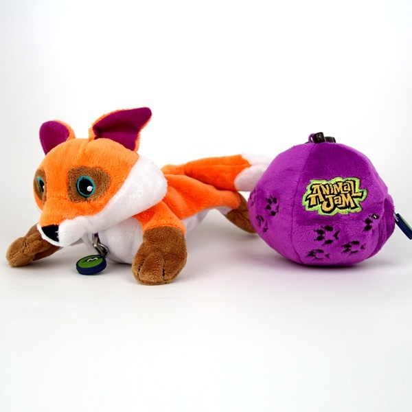 Animal Jam Sidekix® Fox Plush, I have one and I recommend it. Adorable.