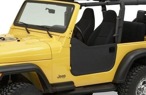 Bestop-Soft-Half-Doors-97-06-Jeep-Wrangler-TJ-Unlimited-Black-Diamond-53039-35