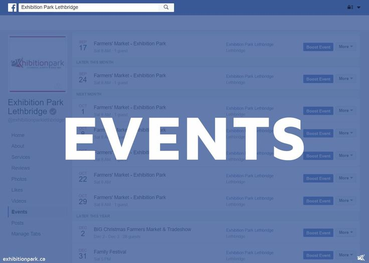 Stay up to date on EX Events! SUBSCRIBE to our events here: https://www.facebook.com/exhibitionparklethbridge/events   #yql #lethbridge #ItsAtTheEX