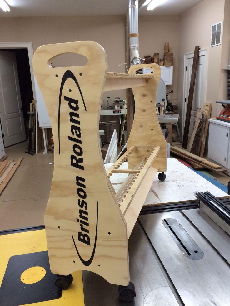 Diy Kayak Rack >> Rod rack built by Rods @ Rest. www.rodsatrest.com ...