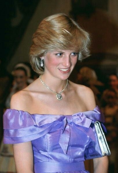 HRH Diana, Princess of Wales.