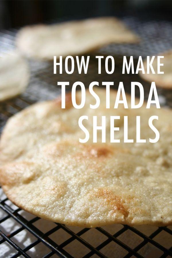 DIY Tostada Shells