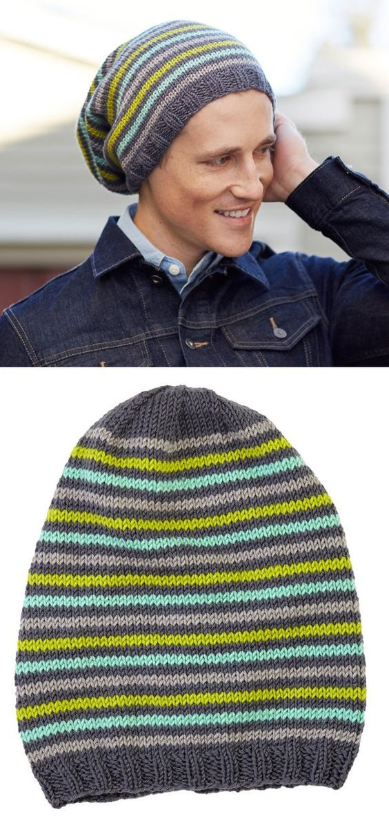 43fcdc567c564 20+ Free Slouchy Hat Knitting Patterns to Download Now!