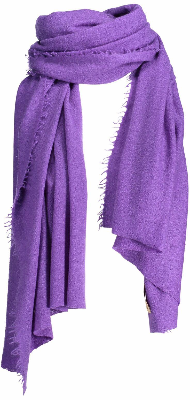 Helsinki scarf, 70x195cm, royal purple
