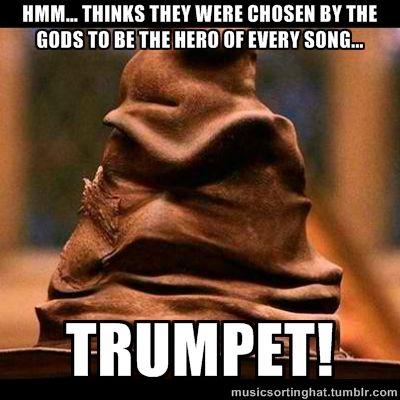 "The Music Sorting Hat What does it mean by ""thinks""?"