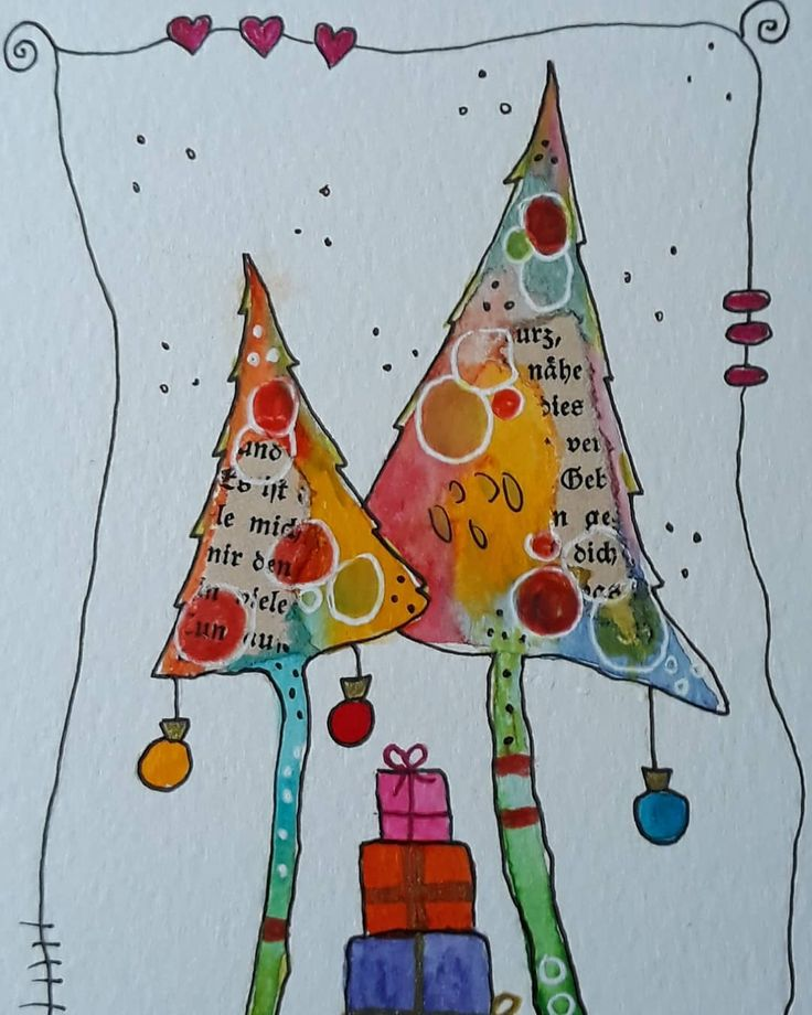 Ella On Instagram Weihnachten Weihnachtskarten Happyxmas Clarissahagenmeyer Aquarell Aquarell Weihnachten Weihnachten Zeichnung Diy Karten Weihnachten