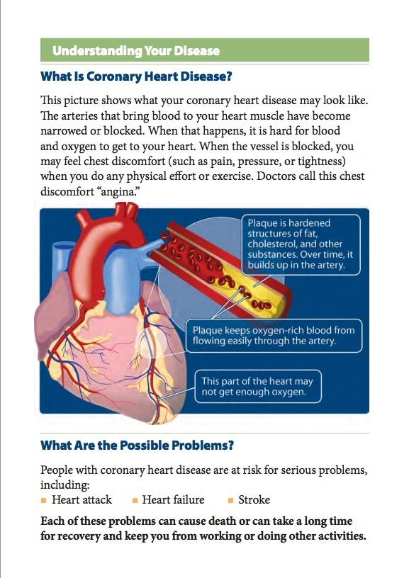 the dangers of coronary heart disease Heart (cardiovascular) disease (cvd, heart disease) is a variety of types of conditions that affect the heart, for example, coronary or valvular heart disease cardiomyopathy, arrhythmias, and heart infections.