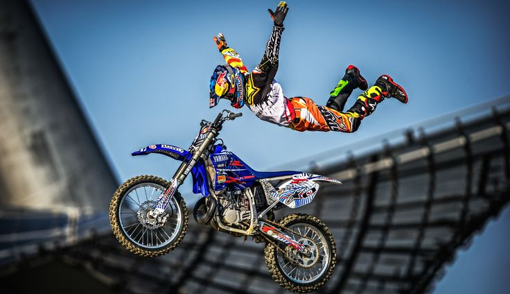 Tom Pages - in Munich for Red Bull X-Fighters #motorcycle #fmx #freestyle