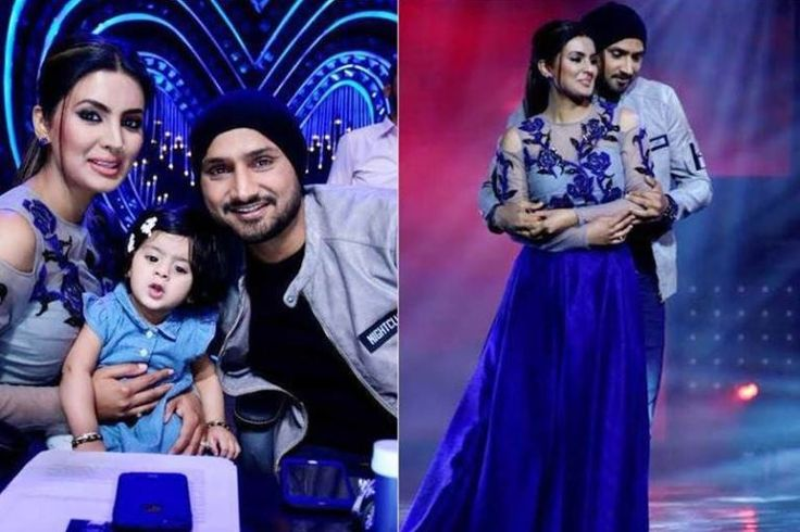 "Harbhajan Singh Posing With His Wife Geeta & Baby Girl Hinaya On Set Nach Baliye 8 is definitely getting more starry & grander with each passing week. Last week we saw Bollywood superstar Hrithik Roshan as guest on the show and this week star cricketer Harbhajan Singh along with his gorgeous wife Geeta Basra & … Continue reading ""Pics: Harbhajan Singh Posing With His Wife Geeta & Baby Girl Hinaya On Set Of Nach Baliye 8"""