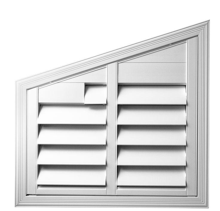 Half Rake #luxaflex #polyresinshutters #shutters #interior #design #luxaflexau