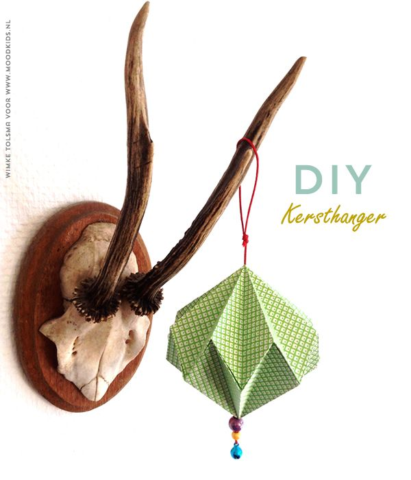 Christmas ornament #diy by @wimke n Tolsma for @MoodKids #paper #origami