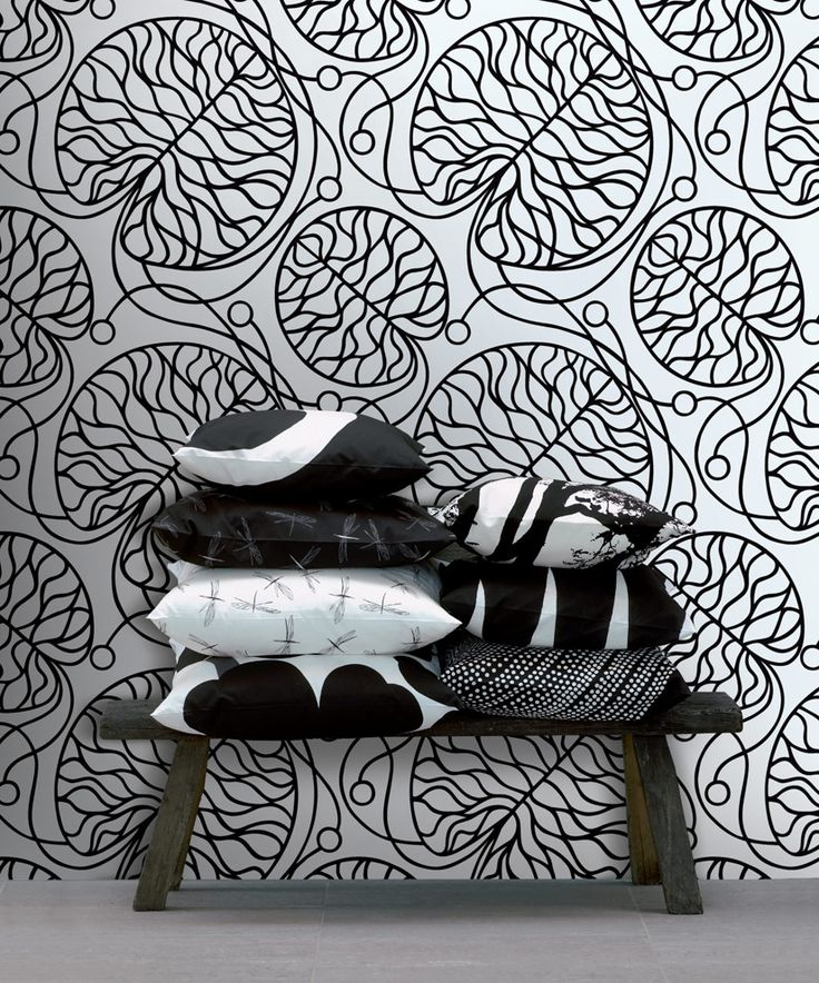 1000 images about marimekko on pinterest the box scandinavian style and a - Marimekko papier peint ...