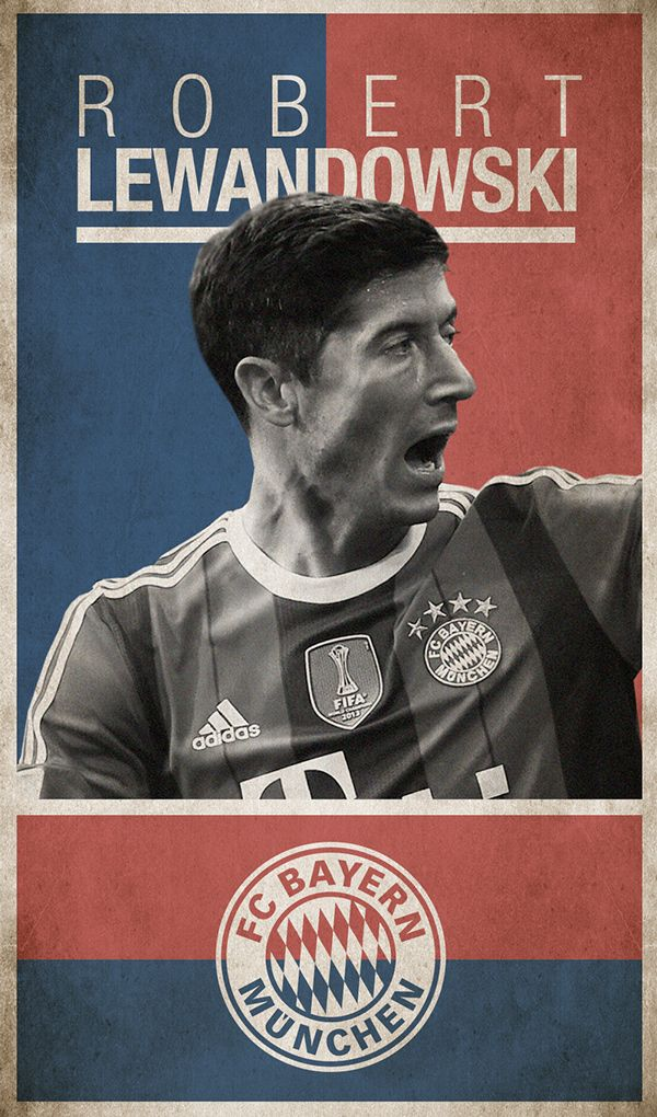 Robert Lewandowski (Transfer market 2014/15 on Behance)